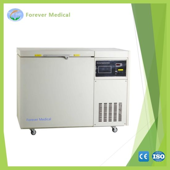 -150 Degree 100L Chest Type Medical Cryogenic Deep Freezer