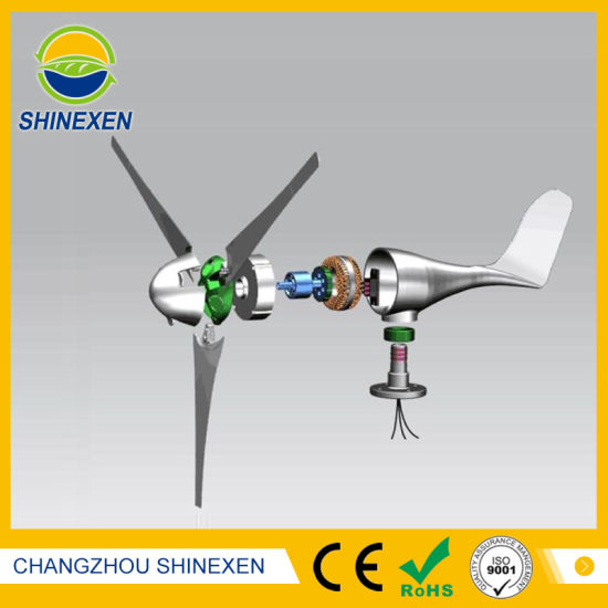 12V 24V 300W Horizontal Wind Generator pictures & photos