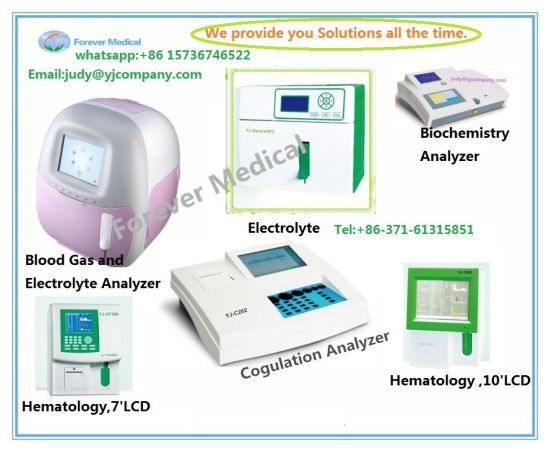 Blood Coagulation Analyzer with Open Reagent system pictures & photos