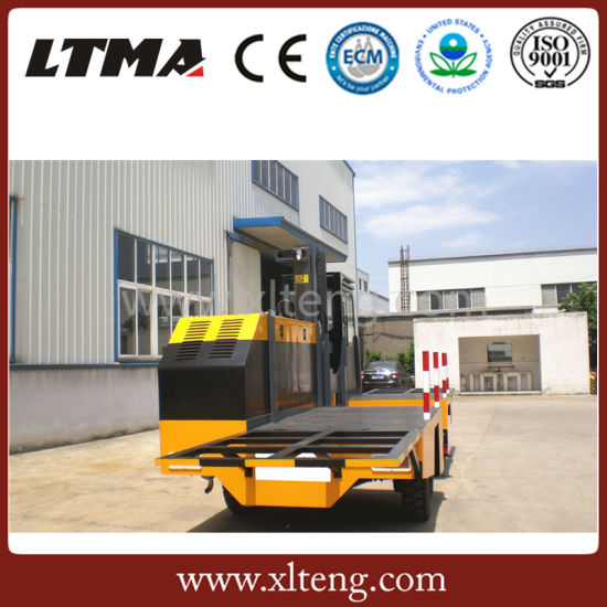 Chinese 5 Ton Container Side Loader Forklift for Sale pictures & photos