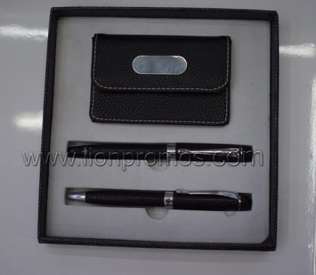 Metal Pen Name Card Box Business Gift Set pictures & photos