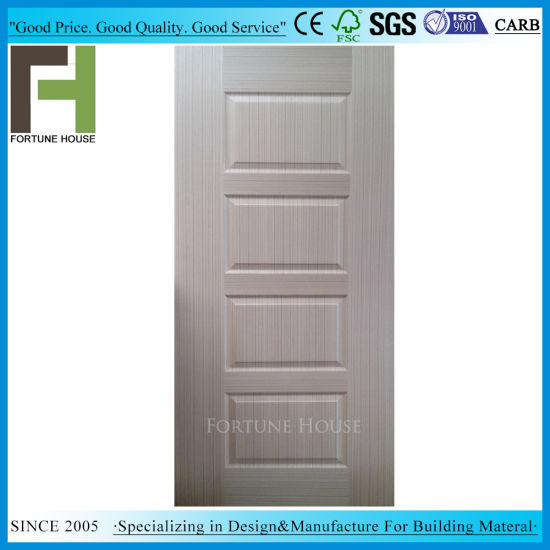 Real Natural Wood Veneer MDF HDF Door Skin pictures & photos