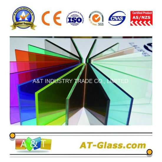 6.38mm 8.38mm 10.38mm Tinted Laminated Glass/Colored Laminated Glass