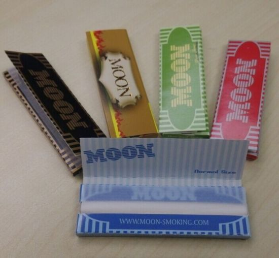 China Moon Blue 1 0 Ultra Thin Best Rolling Paper - China Raw