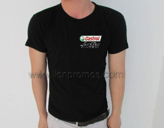 Petro Oil Castrol Logo Promotion Gift Advertising Cotton T Shirt