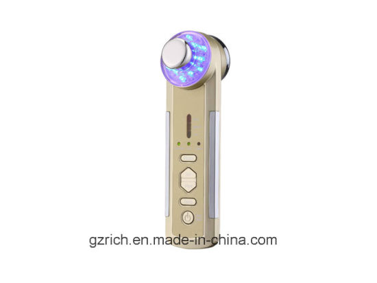 4 in 1 Multifunction Photon Ultrasonic Ionic Vibrate Beauty Appliance pictures & photos