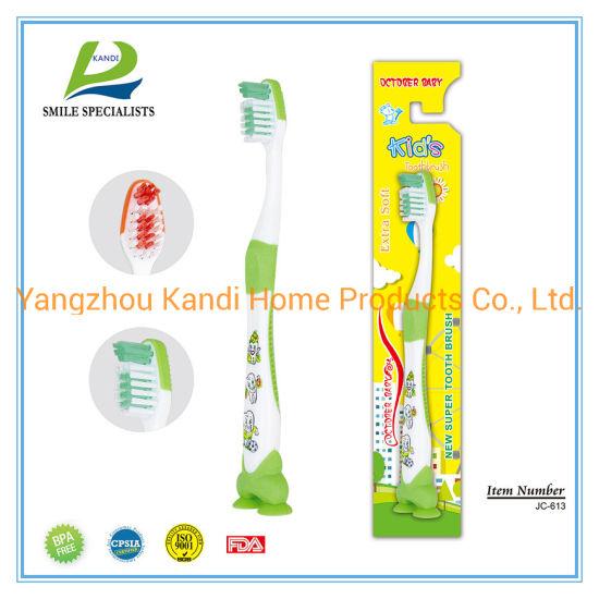Cartoon Children/Kids PP Nylon Toothbrush with Cartoon Printing
