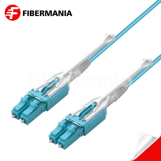 Factory Best Price LC-LC Uniboot Duplex with Pull Tab OM3 Multimode Fiber Optic Cable Patch Cord Optical Cable