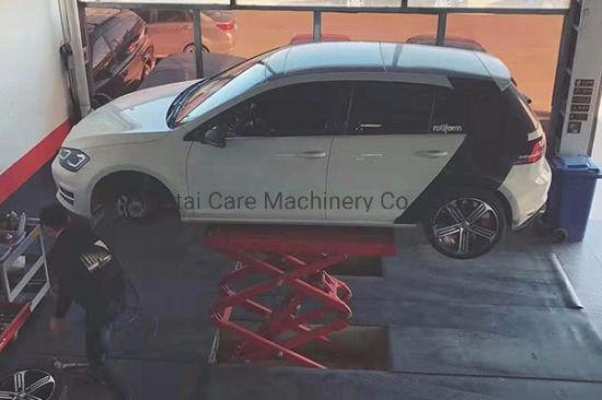 3.5t Full Rise Car Scissor Inground Lift for Repair Shop
