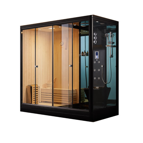 Luxory Europe Bathroom Sanitary Ware Steam Sauna Room