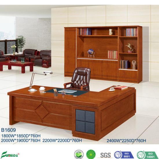 Modern Chinese Wooden Executive Desk and Conference Table Office Furniture