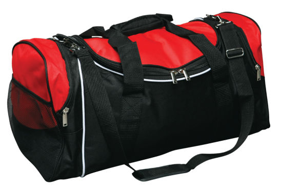Custom Polyester/Canvas Trolley Promotion Duffel Luggage Gym Sports Duffle Travel Bag pictures & photos