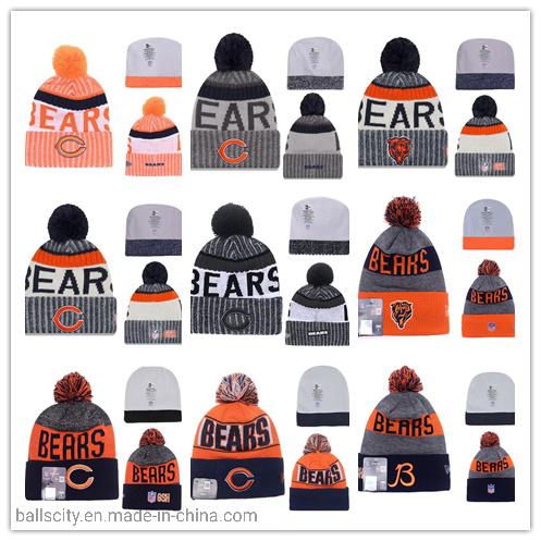 Bears Fashionable Custom Warm OEM Winter Knitted Caps