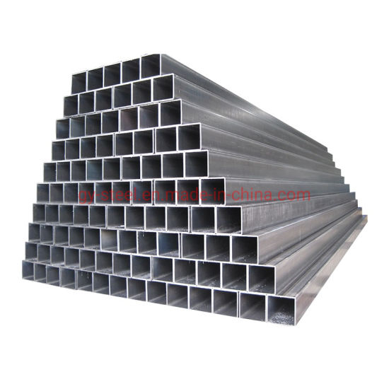 Hollow Section Steel Tube ERW Black Annealed Steel Pipe