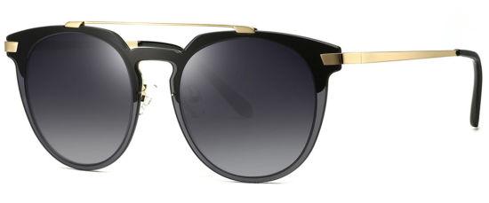 Shiny Transparent Sunglasses, Classic Eyewear Frame Shape