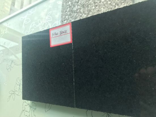 Natural Black Granite for Flooring/Wall Cladding/Stairs/Steps/Pool Coping Stone Tile Paving