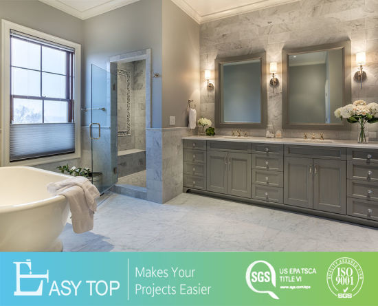 Modern Furniture PVC Finish Shaker Door Panel Vanity MDF Bathroom Cabinet