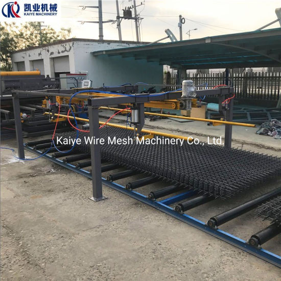 Automatic Reforcement Steel Bar Mesh Welding Machine