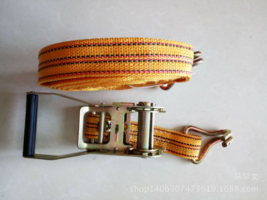 100mm 4 Inch 30FT Winch Straps with Flat Hook Polyester Webbing Tie Down