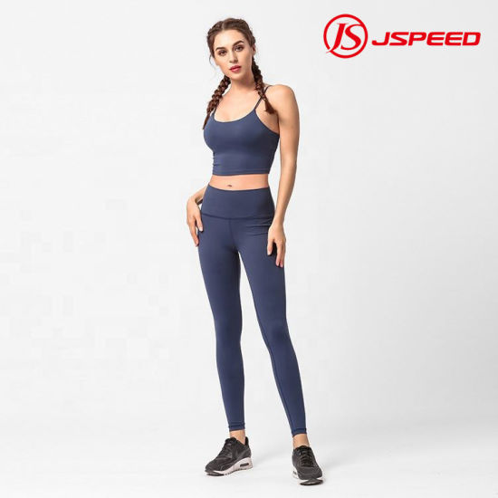 High Quality Quick Dry Stretchable Fitness Gym Wear Women Sportswear for Yoga