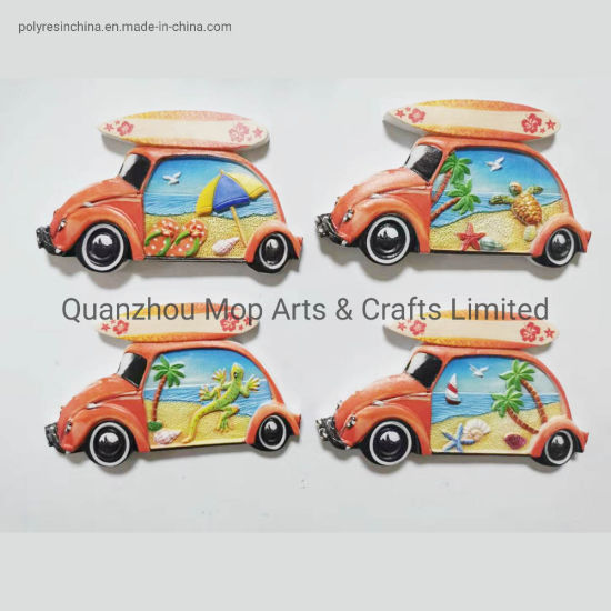 Custom Tourist Souvenirs 3D Printed Logo Epoxy Polyresin Printing Fridge Magnet pictures & photos