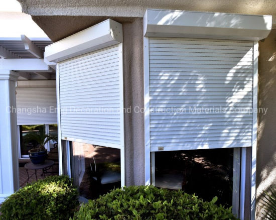 Hurricane Protection Automatic Aluminum Rolling Shutter Window Cover