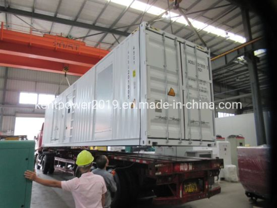 1375kVA/1100kw Cummins Engine Container Electirc Generator with ISO9001