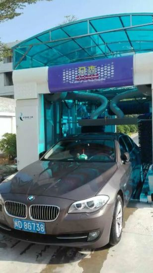 Foam Car Washing Machine Automatic Cleaning Tool With Drying System High Quality Pictures Photos