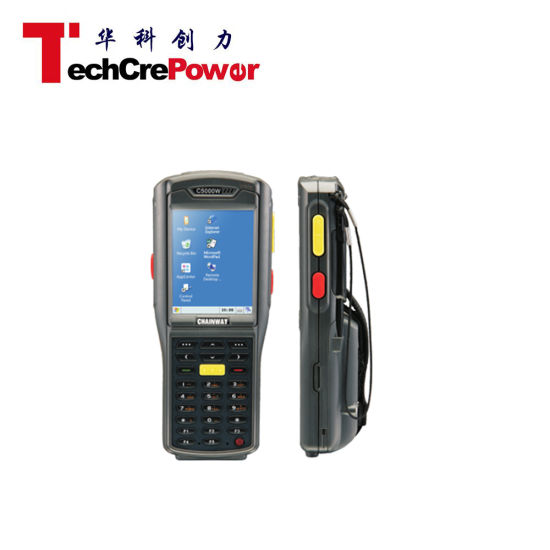 C5000W 1/2D Barcode Hf, Lf Handheld Middle-Range RFID Card Reader pictures & photos