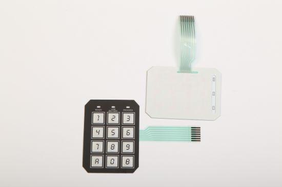 Membrane Switch Buttons Keypad