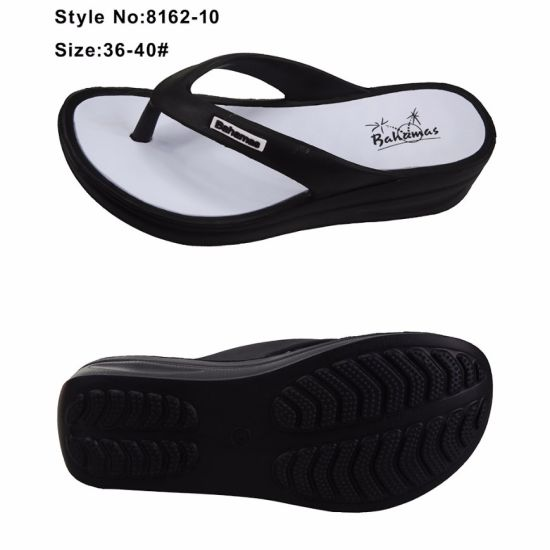 3a612a067345eb China Ladies High Heel Sole Sandals Women EVA Flip Flops Slippers ...
