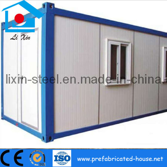 China Movable Prefabricated Steel Frame Flat Pack House Container ...