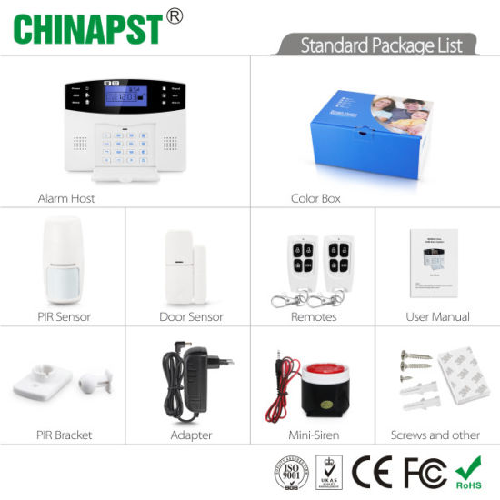 2018 Home Security Wireless GSM Alarm Burglar Alarm System (PST-GA997CQN) pictures & photos