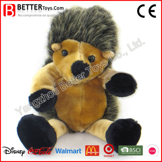 Plush Cuddle Stuffed Animal Soft Toy Hedgehog Doll for Kids pictures & photos