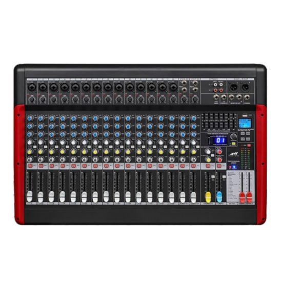 Mx Series Analog Audio Mixer with EQ and DSP Mx-18fx Mixer for Professional Use