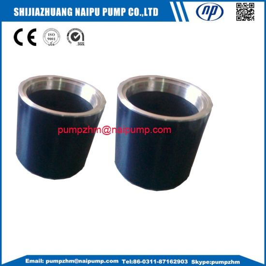 OEM Stainless Steel Ceramic Coated Sleeve for Slurry Pump pictures & photos