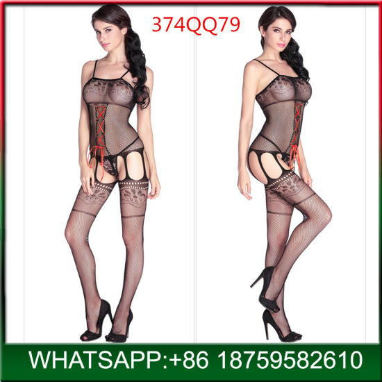 New Arrival Ladies Adult Bodysuit Sexy Lingerie with Cheap Price pictures & photos