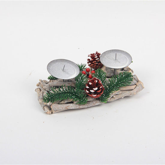 Wooden Gift Box Christmas Outdoor Party Decoration Home Decor
