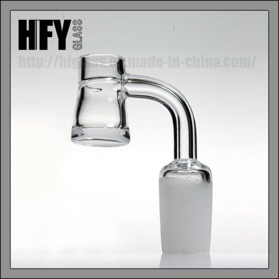 High Quality Quartz Grail 4mm Thick Quartz Banger Nail 90 Degree 14mm 18mm 14.4mm 18.8mm Male Joint for Toro Glass Smoking Water Pipes