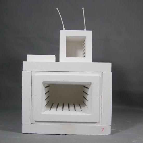 High Temperature Ceramic Fiber Box Type Furnace Chamber