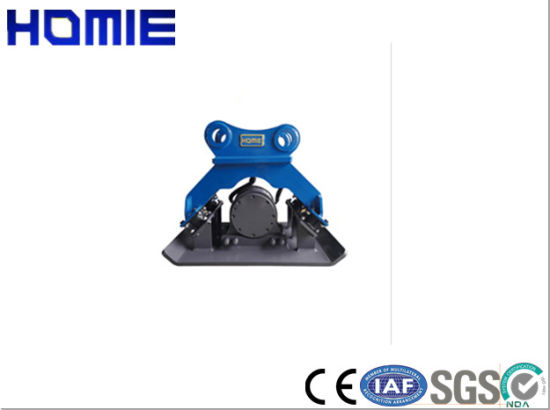 4-6 Ton Excavator Attachment Hydraulic Plate Compactor for Municipal Construction