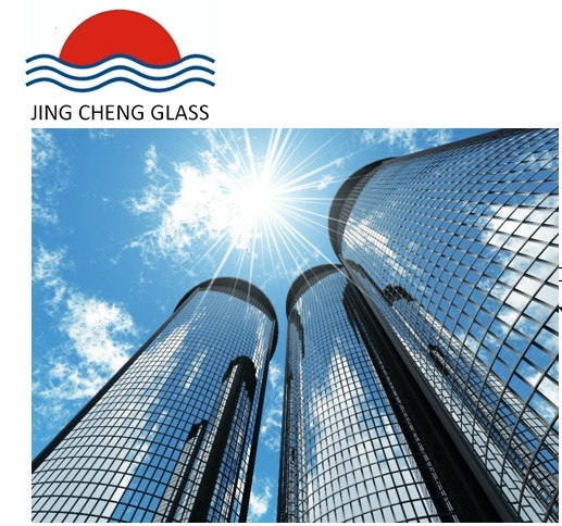 Low-E Hollow Glass Used in Curtain Wall Building
