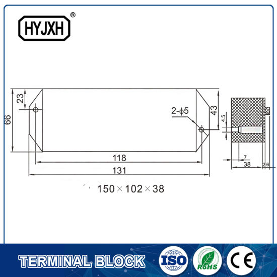 China Anti-Theft Electricity Three Phase Three Wire Test Terminal ...