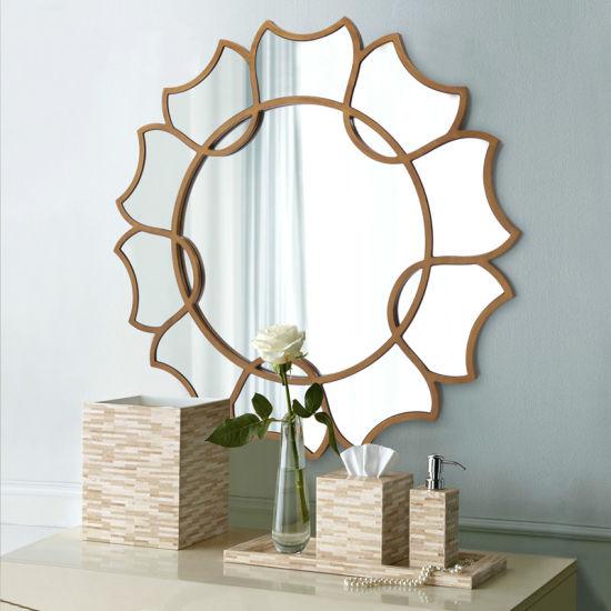 China Metal Frame Sliver Decorative Wall Mirror For Bedroom China Mirror Decorative Mirror