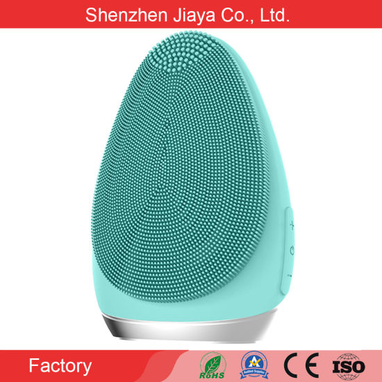 Face Beauty Care Electronic Silicone Facial Cleansing Machine Mask Brush