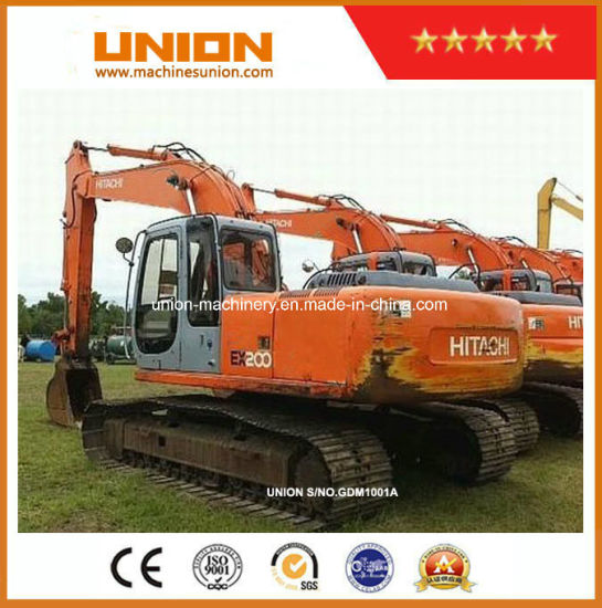 China Cheap Picice Hitachi Ex200-2 Excavator Original Japan