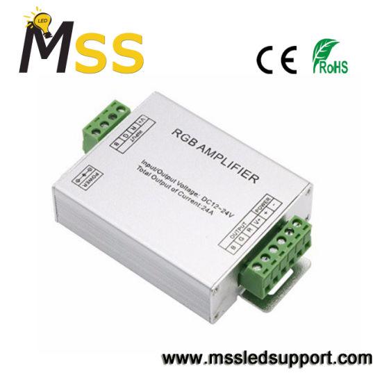 China Low Voltage Safety DC 12V/24V RGB Amplifier - China LED Controller, Lighting Controller