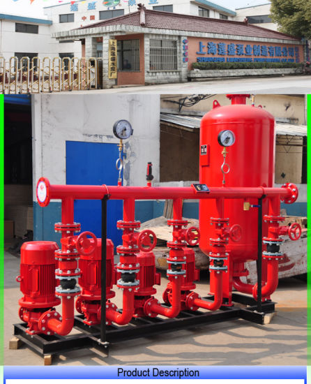 China Dual Power Pneumatic Water System Fire Pressure Water Supply ...