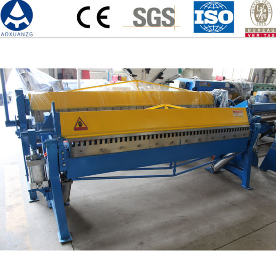 Qtdf-1.5X1300 Pneumatic Tdf Bending Folding Machine for Sheet Steel