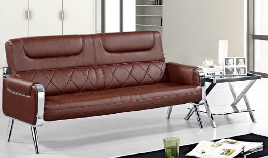 China Hot Sales New Style Office Waiting Sofa With Metal Frame 631
